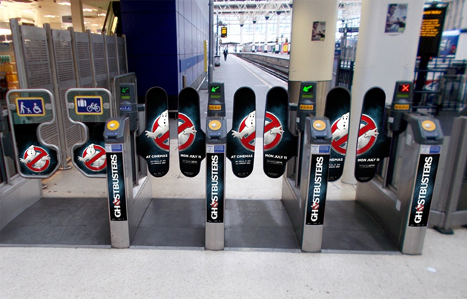 Waterloo Station Ticket Barriers