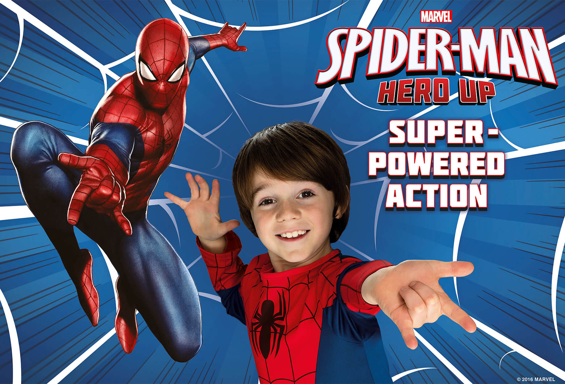 Spiderman Hero Up - Super powered action