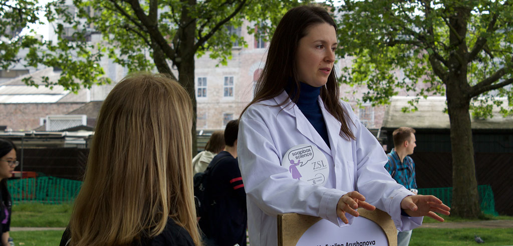 L'Oreal Soapbox Science