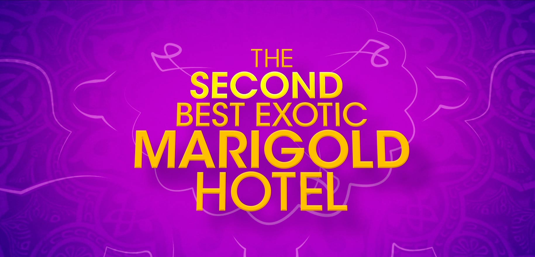 Staysure & The Second Best Exotic Marigold Hotel
